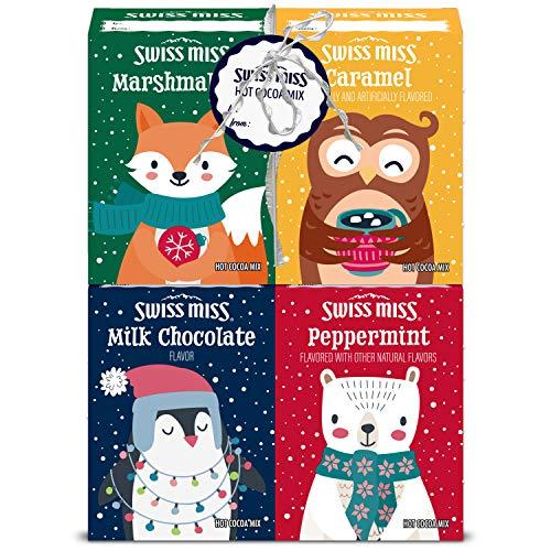 Swiss Miss Hot Chocolate Variety Pack (4 Flavors), Hot Chocolate Mix, Hot Chocolate Variety, Hot Chocolate Swiss Miss, Peppermint Hot Chocolate, Instant Hot Chocolate