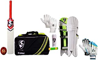 SG Cricket Combo Kit with Bat for Men Size