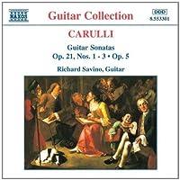 Guitar Sonatas by CARULLI (1996-02-20)