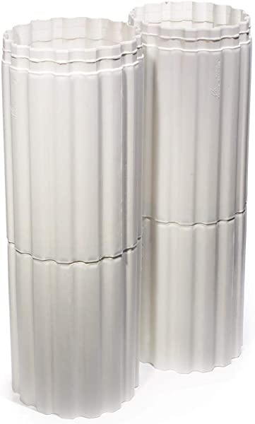 White Classic Column Extension 12 Inches High X 7 1 2 Inches Diameter
