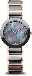 Time   Women's Slim Watch 11429-769   29MM Case   Ceramic Collection   Stainless Steel Strap with Ceramic Links   Scratch-Resistant Sapphire Crystal   Minimalistic - Designed in Denmark
