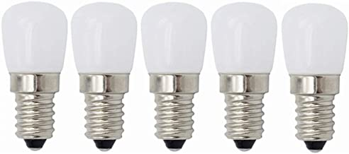Led Bulbs, LED E14 Small Edison Screw Appliance Bulb, 3W (Equivalent to 20W), for Fridge Refrigerator,Sewing Machine,Cooke...