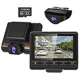 Best Auto Dash Cams - Dual Dash Cam, AQP Full HD 1080P Car Review