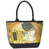 """DESIGN: Famoso motivo dell'illustre artista viennese dell'Art Nouveau Gustav Klimt (1862-1918). L'originale si può ammirare nella """"Galerie Belvedere"""" di Vienna.  Col il dipinto """"Il bacio"""" (1908) l'artista ha reso immortale la sua amante Emilie. Quest..."""