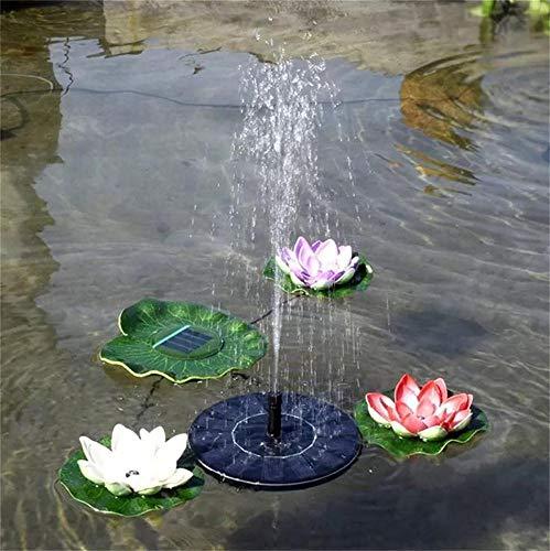 shulan shop kitchen Schwarzer Solarbrunnen Schwimmendes Freibadwasser Kennzeichnet Kreisförmiges Fließendes Wasser Schwimmenden Brunnen