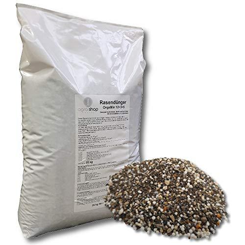 Agrarshop-Online OrgaMin Rasendünger 25 kg Sofortwirkung Langzeitwirkung Turbo