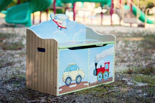 Fantasy Fields Children Transportation Kids Holz-SpielzeugkisteStorage W-9940A - 10