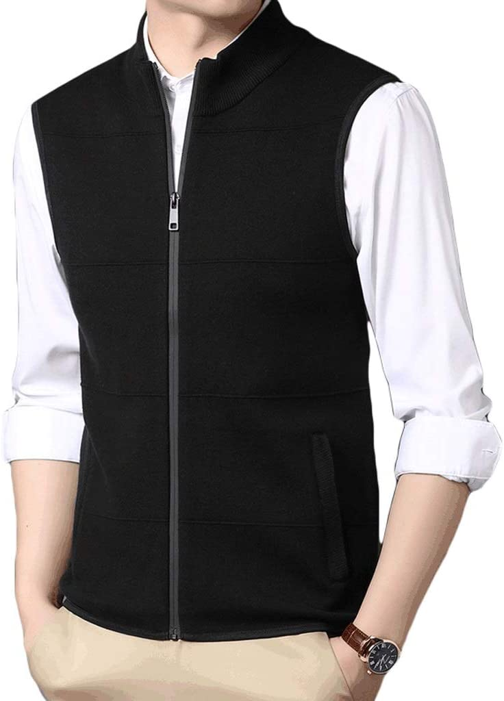 Inexpensive Men's Fashion Don't miss the campaign Vest Stand-up Autumn Busi Collar Winter