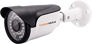 TIGERSECU Super HD-TVI 1080P Wired Security Camera for HD-TVI 1080P DVR, Weatherproof for Indoor/Outdoor Use (Power Supply and Coaxial Cable Sold Separately)