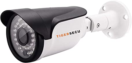 Sponsored Ad - TIGERSECU Super HD-TVI 1080P Wired Security Camera for HD-TVI 1080P DVR, Weatherproof for Indoor/Outdoor Us...