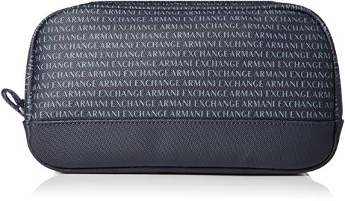 Armani Exchange Cosmetic Case voor heren, eenheidsmaat