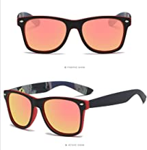 LUKEEXIN Sport Polarized Sunglasses For Cycling Fishing Golf Driving Superlight Frame
