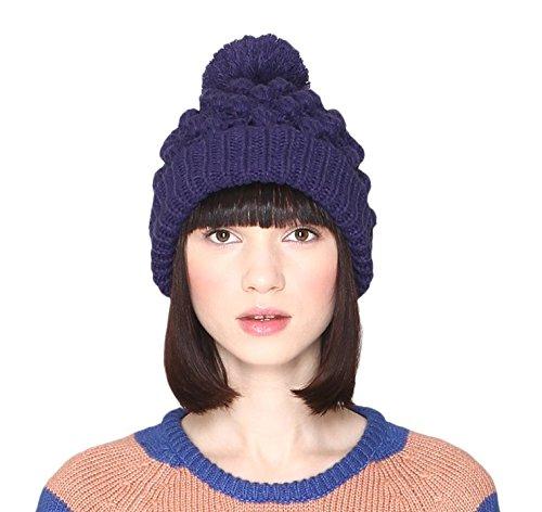 Pepaloves 1080 Sombrero, Azul (Dark Blue), Talla única para Mujer
