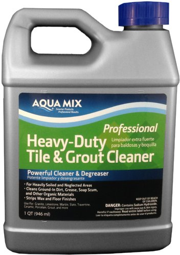 Aqua Mix Heavy Duty Tile and Grout Cleaner - Quart
