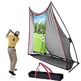 Champkey Professional Golf Hitting Net (10' x 8')   Driving Range Golf Practice