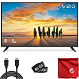 VIZIO V-Series 50-Inch 2160p 4K UHD LED Smart TV (V505-G9) with Built-in HDMI, USB, Dolby Vision HDR, Voice Control Bundle with 6.5 ft HDMI Cable and Accessories