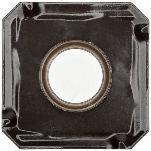 "Sandvik Coromant COROMILL Carbide Milling Insert, 345R Style, Square, GC3220 Grade, Multi-Layer Coating, 345R1305MKH,0.22"" Thick, 0.032"" Corner Radius (Pack of 10)"