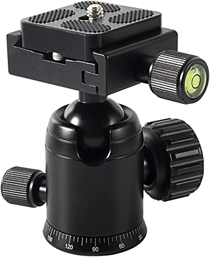 """2021 MEKNIC 30MM Mini Ball Tripod Head wholesale Camera 360° Panoramic with 1/4"""" Screw 3/8"""" Thread Mount and Arca Swiss QR Plate Metal Ball Joint for Monopod, sale DSLR, Phone, Gopro,Telescope, Max Load 22lbs/10kg sale"""