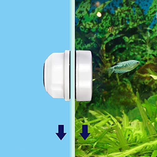 Bulz Mini Cepillo magnético para Acuario pecera Cristal Algas rascador diseño Flotante...