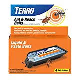 Terro T360 Ant and Roach Bait Stations, 1 Pack,Black
