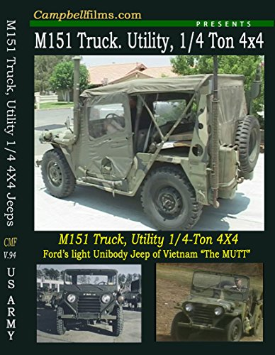 M151 M151A2 M-151 Army Jeep Films Not MB GPW War old films DVD not GPW or MB