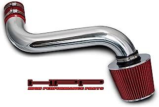 High performance parts Short Ram Air Intake Kit & Red Filter Combo Compatible for 92-95 Chevrolet S10 / Blazer/GMC Jimmy/Sonoma / 92-94 Oldsmobile Bravada 4.3L V6 CPI (Vortec CPI Engine Only)