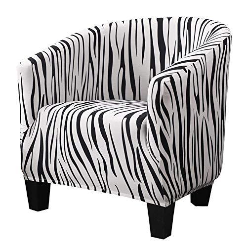 Jonist Funda para Silla de Club, Funda para sofá Individual, Funda para sofá de Terciopelo de Gran Elasticidad para sillón, Protector de Muebles Antideslizante Funda de Tela extraíble y Lavable par