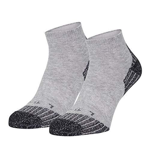 Safersox Laufsocken/Running Socken Grau meliert, 43-46