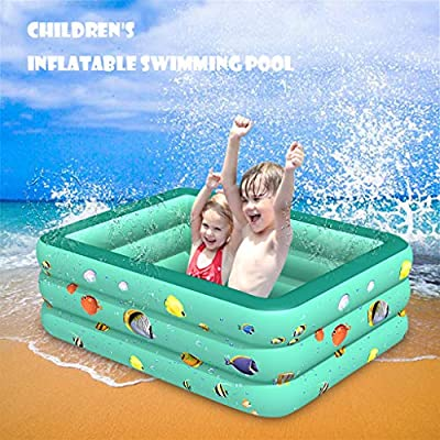 GIFTT Inflatable Kiddie Pools, Inflatable Swimm...