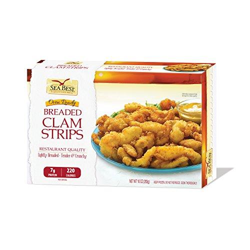 Sea Best Breaded Clam Strips, 10 Ounce