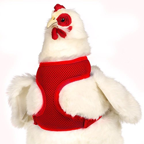 Valhoma Chicken Harness Adjustable Durable Breathable Mesh...