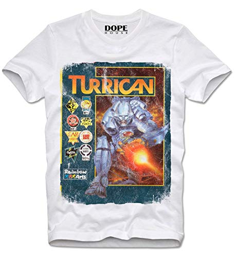 Turrican Amiga Gamer T-shirt for Men, S to Xl