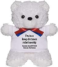 CafePress Long Distance Relationship Teddy Bear, Plush Stuffed Animal
