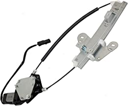 Passengers Rear Power Window Lift Regulator with Motor Assembly Replacement for Chrysler Dodge 5016518AB