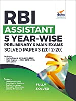 RBI Assistant 5 Year-wise Preliminary & Main Exams Solved Papers (2012-20)