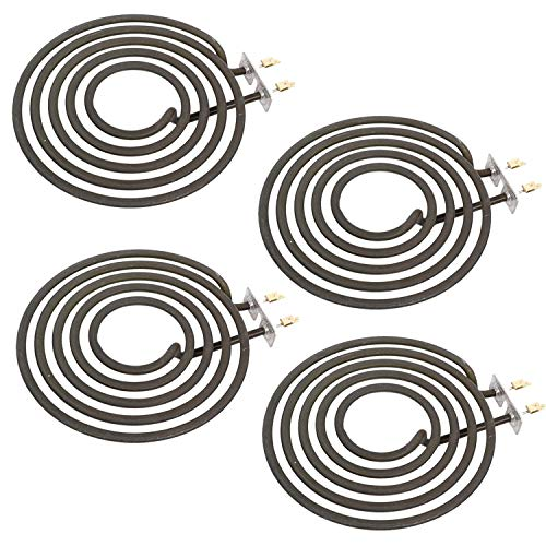 SPARES2GO Hotplate Ring Element 1800W for Belling Cooker Hob Oven (Pack of 4)