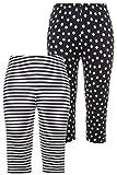Ulla Popken Pyjama-Hosen, 2er-Pack, Biobaumwolle, Damen, Große Größen Pantalón de Pijama, Azul Celeste, 48 para Mujer