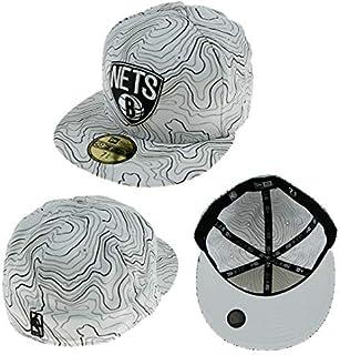reputable site 0705e 5ef1f New Era Contour Couronne Brooklyn Nets NBA Fullcap Blanc 7 1 4