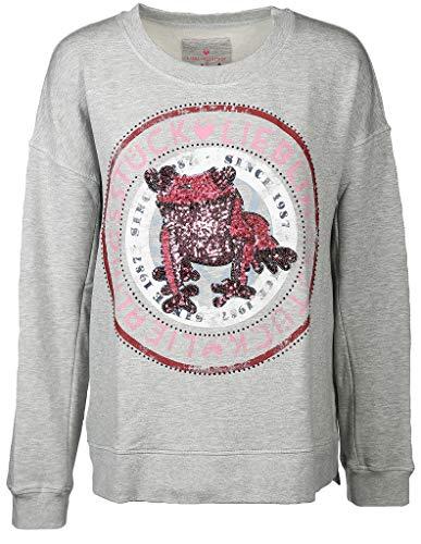 Lieblingsstück Damen Sweatshirt CailyW Größe M Grau (grau)