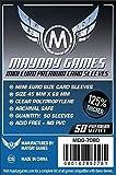 500 Mayday Premium Mini Euro 44 x 68 Board Game Sleeves - 10 Packs 7080