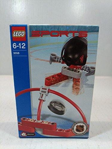 Lego 3558 Sports Hockey Roter Torschütze