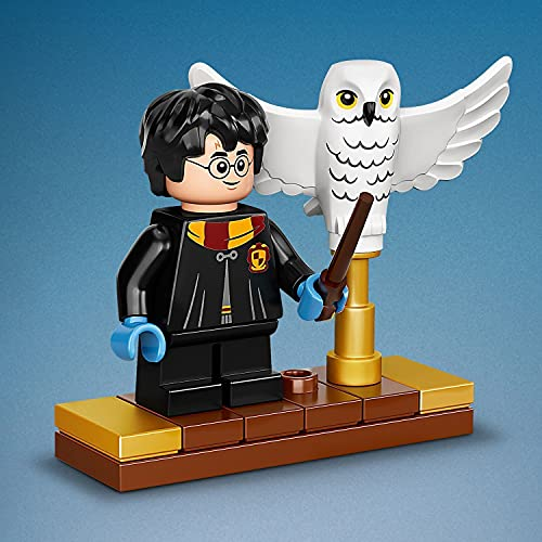 LEGO-75979-Harry-Potter-Hedwig-the-Owl-Figure-Collectible-Display-Model-with-Moving-Wings