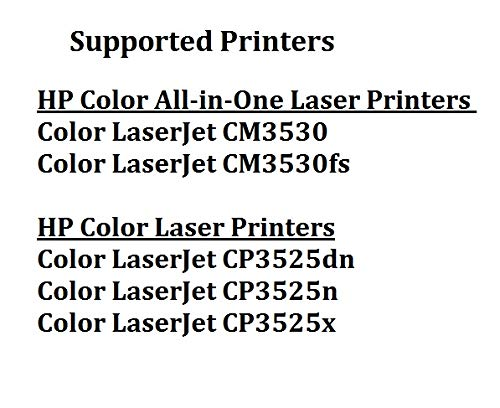 Calitoner Remanufactured Laser Toner Cartridge Replacement for HP CE252A -Yellow Photo #8