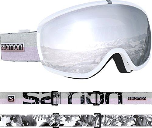 Salomon, IVY, Máscara esquí mujer, Blanco White