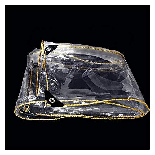 Lona Transparente Lona Impermeable Resistente, Cubierta De Lona A Prueba De Viento Y Lluvia, Cubierta De Invernadero De Jardín Al Aire Libre, Fuerte Efecto De Aislamiento(Size:1.5×3m)