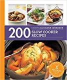 [By Sara Lewis] 200 Slow Cooker Recipes: Hamlyn All Colour Cookbook (Paperback)【2016】by Sara Lewis (Author) [1859]