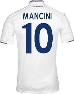 2015-16 Sampdoria Away Football Soccer T-Shirt Jersey (Roberto Mancini 10)