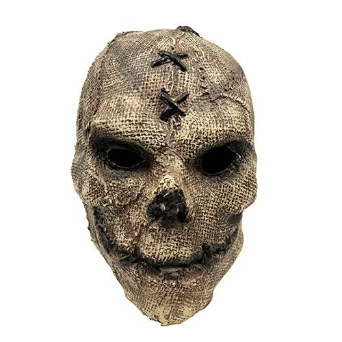 Máscara De Terror Cosplay Esqueleto Aterrador Máscaras De Látex Casco Fiesta De...