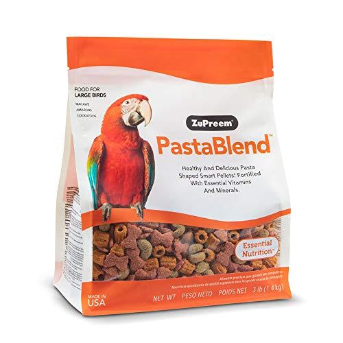 ZuPreem - Alimento para Aves PastaBlend | Pienso Guacamayos, Cacatúas y Amazonas - 1,36 kg