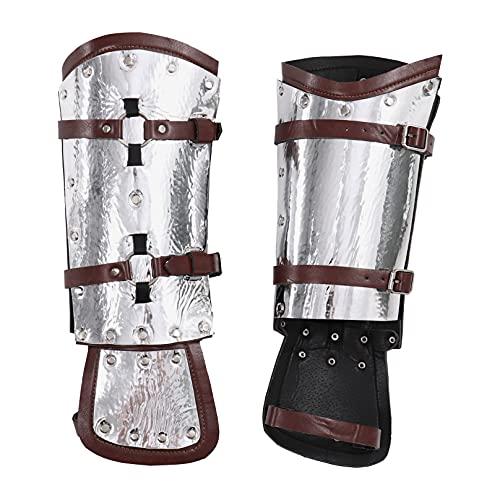 MSemis 1 Paar Mittelalterliche PU Leder...